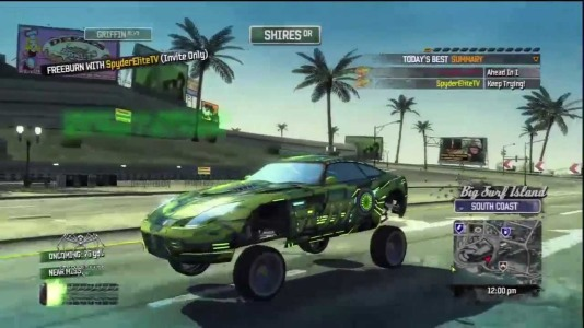 Burnout Paradise PS3 Game